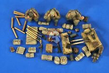 Verlinden 1/35 7.5cm PaK 40/4 auf RSO Stowage, Ammo & Crew (3 Fig) (Dragon) 2679