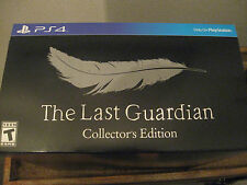 NEW The Last Guardian Limited Collectors Edition Game for Sony Playstation 4 PS4
