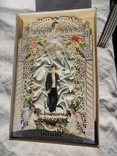 Spectaculaire image à système du XIXeme souvenir 1ère Communion