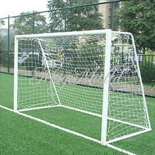 Outdoor 9.8x6.5ft Football Soccer Goal Post Nets 3x2M Sports Training Practise M
