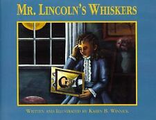 Mr. Lincoln's Whiskers by Karen B. Winnick (1996, Hardcover) childrens book