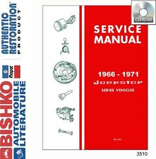 1966 1969 1970 1971 Jeep Jeepster Shop Service Repair Manual CD OEM Guide