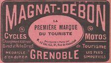 Y7747 Cycles & Motos MAGNAT-DEBON - Pubblicità d'epoca - 1914 Old advertising