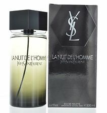La Nuit De L'homme by Yves Saint Laurent Eau De Toilette 6.8 oz 200 ml for Men