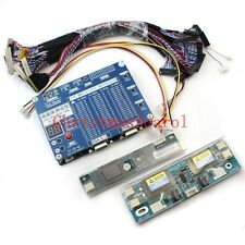 NEWest Laptop LCD/LED Test Tool Kit Panel Screen tester+  Lvds Cables + Inverter