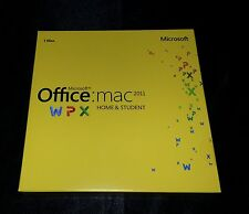 Microsoft Office MAC Home & Student 2011 Retail DVD Install MAC 1 Use