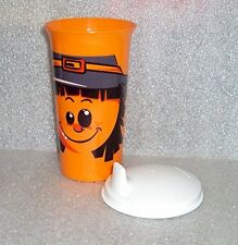 Tupperware Big Bell Tumbler Sipper Seals Sippy Baby Kids Cup Halloween Scarecrow
