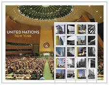 UNO NEW YORK - 2013 GRUSSMARKEN BOGEN 1322-31 - GRÜSSE AUS NEW YORK $ 1,10 S 51