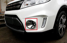 Chrome Front Head Fog Lamp Light Cover Bezel For Suzuki Vitara Escudo 2015 2016