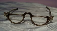 VINTAGE ART DECO CAT EYE EYEGLASSES SPECTACLES w/ INLAID RHINESTONE DECORATION