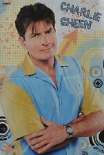 CHARLIE SHEEN - A3 Poster (42 x 28 cm) - Two and a half Men Clippings Sammlung