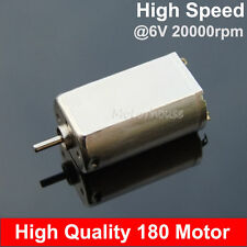 Strong Magnetic High Speed 3v-9v 180 Motor DC 6V 20000RPM for Car Boat Model DIY