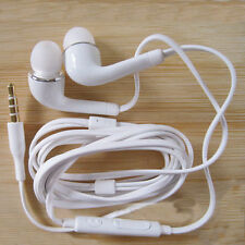 White Stereo In-Ear Headsets Earphone Headphone For Samsung Galaxy S5 S4 Note 3