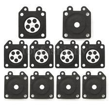 10X Membrana Guarnizione Carburatore Diaframma Ricambio Kit per Walbro 95-526