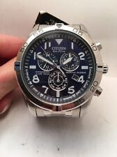 Citizen Men's Perpetual Calender Chronograph Eco-Drive Watch BL5470-57L-HQ