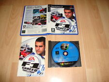 F1 CAREER CHALLENGE FOR SONY PS2 USED COMPLETE VERSION IN PORTUGUES
