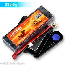 Floureon 2S 7.4V 5200mAh 30C with T Plug LiPo Battery Pack for RC Cars Truck