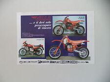 advertising Pubblicità 1982 MOTO VILLA 250 MC/SEBRING 125/125 MC