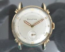 Authentic BULOVA Hand-Winding Women's Wrist Watch 21Jewels Vintage