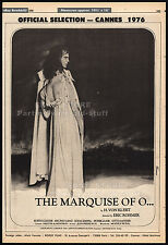 THE MARQUISE OF O...__Original 1976 Cannes Trade Print AD / poster__ERIC ROHMER