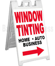 Signicade A-Frame Sign Sidewalk Sandwich Pavement Sign WINDOW TINTING Home Auto