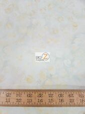 YIN AND YANG STYLE PALE WHITE BY ANTHOLOGY FABRICS BATIK COTTON FABRIC BTY 13059
