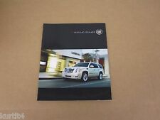 2012 Cadillac Escalade ESV EXT Platinum Hybrid sales brochure dealer literature