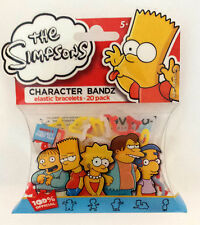 1 Pack of Character Bands / Silly Bandz - Simpsons Series 5 - 20 Bands Per Pack