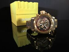 Men's Invicta 11610 Russian Diver Swiss Chronograph Brown Camouflage Dial Watch