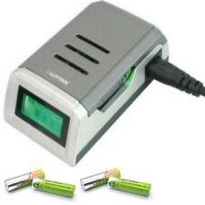 FAST Lloytron Battery Charger - NiMH and 4 AA 2500 mAh 2500mAh