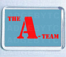 THE A-TEAM LOGO FRIDGE MAGNET -  80's COOL!
