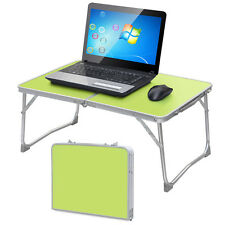 Portable Laptop Desk Folding Laptop Table Tray Stand Computer Notebook Bed Green