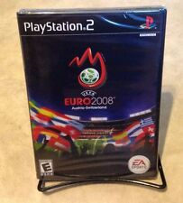 UEFA Euro 2008 Soccer NEW factory sealed Sony PlayStation 2 PS2