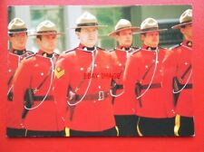 POSTCARD ROYAL CANADIAN MOUNTED POLICE