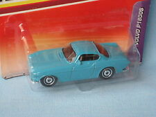 Matchbox Volvo P1800S Blue Body Classic Sports Car 1960's in BP 70mm Toy Model