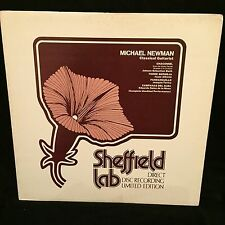 SHEFFIELD LAB 10 - MICHAEL NEWMAN Classical guitarist - LTD ED DIRECT TO DISC