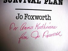 SIGNED Jo Foxworth 60s Businesswomen's Champion Boss Lady's Arrival
