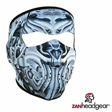 Zan Headgear Neoprene Full Face Mask Biomechanical Facemask Cover Cold Gear Ride