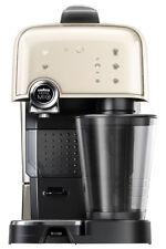 NEW Lavazza ELM7000W A Modo Mio Fantasia Capsule Coffee Machine: Latte White