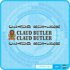 Claud Butler Bicycle Decals Transfers Stickers - Set 3