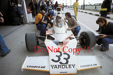 Mike Hailwood Yardley McLaren M23 Belgian Grand Prix 1974 Photograph 1