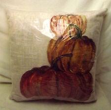 """NWT Pottery Barn Outdoor Market Pumpkin Pillow 20"""" x 20"""""""