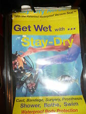 NEW GET WET STAY DRY  WATERPROOF BAG  CAST PROSTHESIS SHOWER BATH SWIM SM. ARM