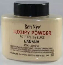 Authentic Ben Nye Luxury Banana Powder oz Bottle Face Makeup Kim Kardashian