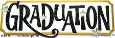 EK SUCCESS JOLEE'S BOUTIQUE 3-D STICKERS - GRAD STARS UNI COLLEGE GRADUATION TAG