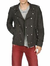 DIESEL W-HACHI CHARCOAL GREY JACKET SIZE M 100% AUTHENTIC