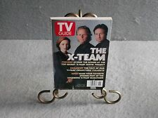 TV GUIDE  X-FILES THE X-TEAM 1997 November GILLIAN ANDERSON  DAVID DUCHOVNY