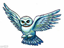 "3"" HARRY POTTER OWL HEDWIG CHARACTER  PEEL STICK WALL BORDER CUT OUT STICKER"