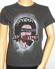 PUNK/ROCKER/RETRO  women's Sex pistols Queen  Rock Vintage t shirts Small 8-12