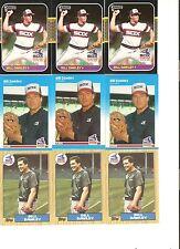 18 CARD BILL DAWLEY BASEBALL CARD LOT       44